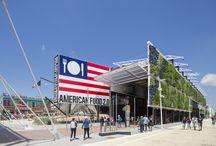 Padiglione USA - Expo 2015 / Insonorizzazione delle solette, incollaggio dei pavimenti ceramici con MAPESILENT COMFORT e KERAFLEX MAXI S1