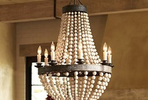 Wood Bead & Unique Chandeliers / by Marie-Chat