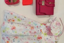 Pretty in pink! / Latest and cutest girl's spring fashion wear!