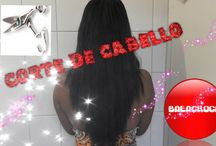 CORTE DE CABELLO / VIDEOS DE YOUTUBE SOBRE COMO CORTAR TU CABELLO TU MISMA EN CASA
