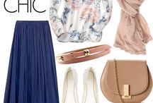 Mix and match for hijaab