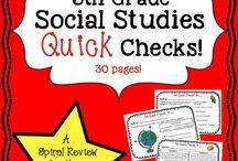 5th Social Studies / by Emily B