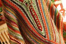 Knitting/shawl