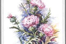 Kwiaty wzory