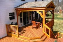 Back yard/deck