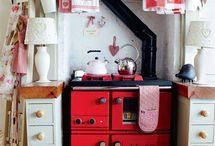 ENGLISH COTTAGE / many charming interior ideas