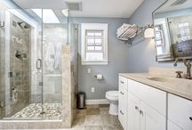 Glass Shower Doors / Glass shower doors provided by Arrow Glass and Mirror Inc. in Austin Texas.