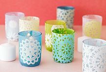 Candle/Candle Holder Ideas / by Dollie Cowart Williams