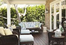 Sunrooms: Garden Rooms : Patios : Porches : Outdoor Rooms / by The Decorated House ~ Donna Courtney
