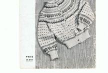 Old norwegian knitting