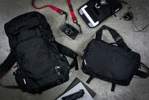 Bag Man / Various types of bags for men from wallets to backpacks to luggage. / by Alpatrick Golphin