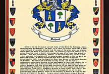 Heraldry & Crests / Coat of Arms and Last Name Histories