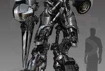 Concept art transformers