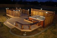 deck & back yard ideas / by Evelyn Graham