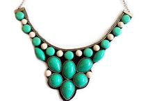 crafty -- jewelry -  maxi colar necklaces