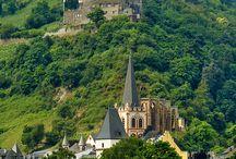Slotte ved Rhinens og Mosel