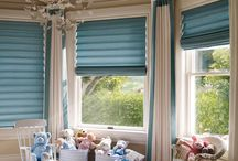 Vignette® Modern Roman Shades / Vignette® Modern Roman Shade have beautiful folds with no exposed cords to maintain a clean look at the window. Choose from different fold sizes and horizontal and vertical orientation