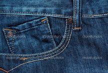 Denim Back Pockets