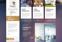 UI - website design / by Caity Corbin