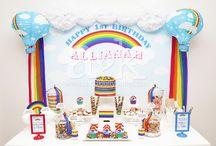 A&K Lolly Buffet {Rainbow Themed 1st Birthday Dessert Table} / A&K Lolly Buffet {Rainbow Themed 1st Birthday Dessert Table}