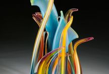 Glass Art / That's it... too much beautiful work to not have a board for this...