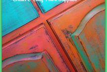 chalk paint - colours