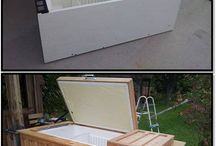 Outdoor bar ideas / by Joanie Korpi