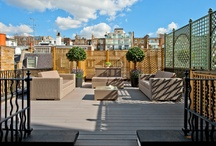 Lovely London Terraces & Gardens  / Beautiful London gardens and terraces belonging to property for sale by Strutt & Parker.