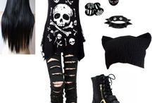 Outfits(emo/punk)