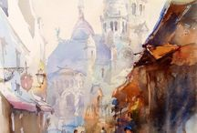 painting - watercolour - igor sava