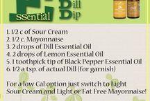 Essential oil Food Recipes