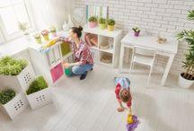 pulizia mobili con prodotti naturali