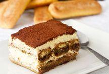 Desserts : Tiramisu