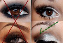 maquiagem para olhos pequenos e fundos