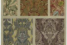 Textile designs XVII c.