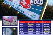 Banners For Sales / We offer Outdoor PVC banners