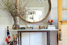 homes - interiors / by clarissa - riss floral design