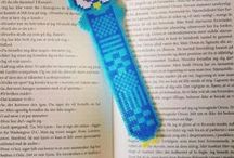 Hama beads kitap ayraçları