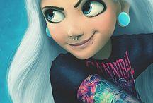 Emo Disney!