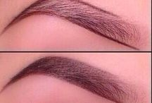 For the beautiful eyes / Eye liner, eye shadow, eyebrow