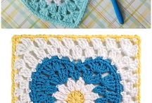 Crochet Squares, Rounds