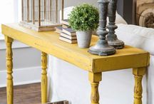 Table with decoration