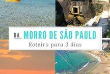 Morro de São Paulo, Bahia / http://compartilheviagens.com.br/3-dias-em-morro-de-sao-paulo-bahia/