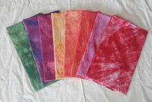 인숙 정(in sook chung) hand  dyeing