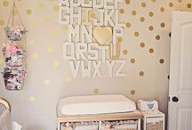 Bedroom decor / Baby's room