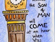 Luke--Bible Journaling by Book / Bible Journaling examples from the book of Luke