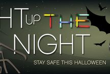 Light Up Halloween Night! / Stay Safe This Halloween.