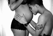 Пара, ждущая ребенка