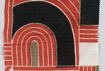 Art: Textiles / Textile art, art on fabrics.