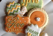 Thanksgiving, Fall, & Halloween Cookies